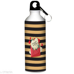 Indian tag Valentines Day Printed Sipper 600 ml Water Bottle|Gift For Your Special One VDIT-SP17