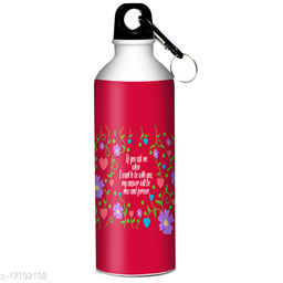 Indian tag Valentines Day Printed Sipper 600 ml Water Bottle|Gift For Your Special One VDIT-SP18