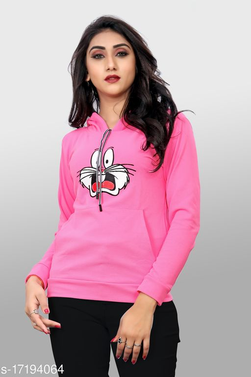 Trendy Fashionista Women Jerry Hoodie Tshirts