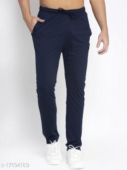 VENITIAN Men's  Cotton Blend Trackpants