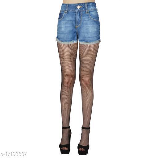 N2S NEXT2SKIN Women's Fishnet Black Net Pattern Mesh Pantyhose Stockings Black Small Net