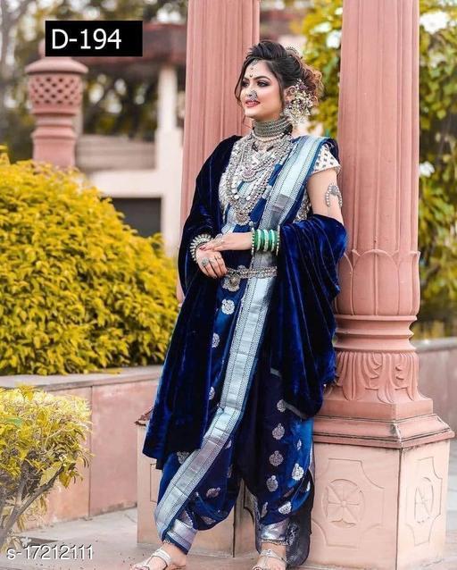 Lichi Silk Rich Pallu Saree for Wedding & Party wear With Brocode Blouse.