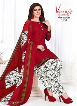 Aagam Drishya Salwar Suits & Dress Materials