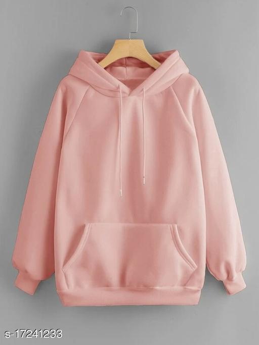 Unisex Plain Cotton Casual Hoodies