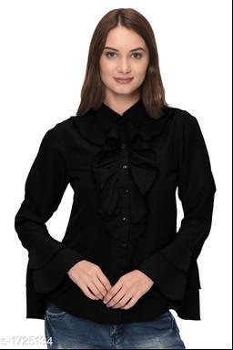 Attractive Solid Women's Shirt