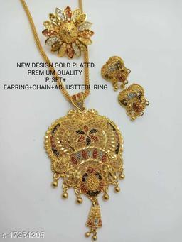 Allure Bejeweled Pendants & Lockets
