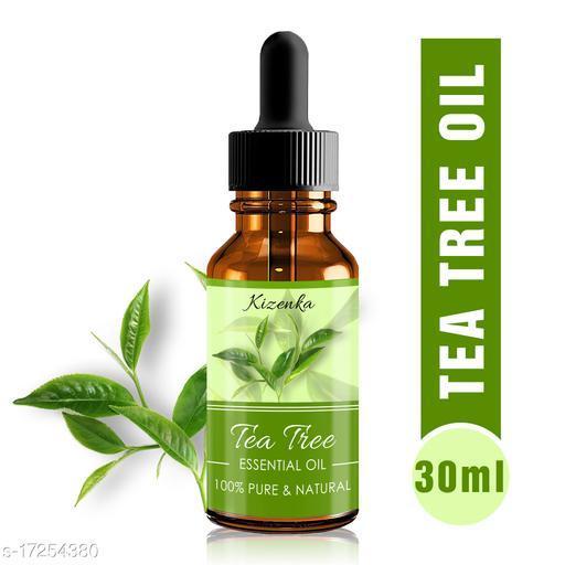 Kizenka Best Tea Tree Essential Oil for Skin, Hair and Acne Care (30 ml) (Pack of 1) (30 ml)