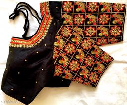 beautifull embroidery stiched blouse