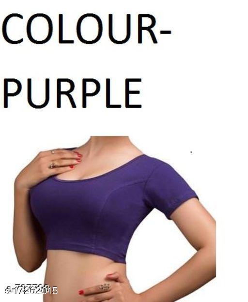 Trendy Cotton Lycra Blouse