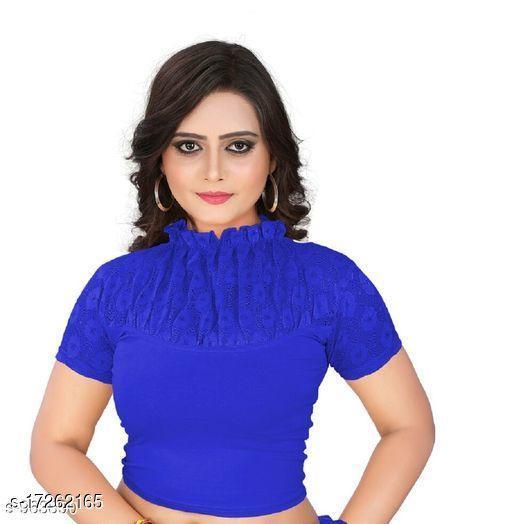 Designer Women's Cotton Lycra Blouse