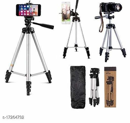 TRIPOD 3110 FOR MOBILE AND SHORT CAMMERA AND CAMMERA (PACK OF 1)