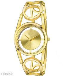 k&u Metal Analog Wrist Watch