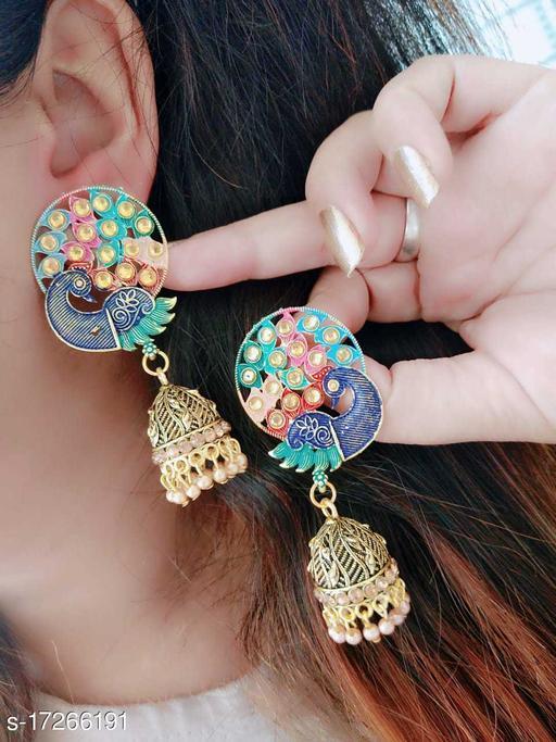 Beauty Dream Fancy Stylish Casual & Party Wear Multi Color Earring Jhumki For Girl's/Women Alloy Jhumki Earring