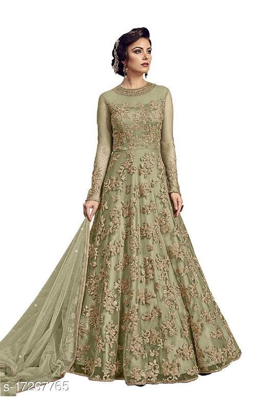 heavy embroidery work salwar suit