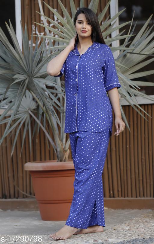 Women Rayon Nightsuit