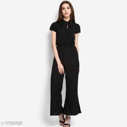 RA Fashion crepe stylish jumpsuit