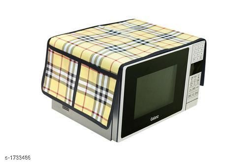 Appliance Covers Finest Laminated Non Woven Microwave Oven Cover  *Material* Laminated Non Woven  *Dimension* (L X B X  H) - 18 in X 14 in  X 13 in  *Description* It Has 1 Piece Of Microwave Oven Cover  *Work* Printed  *Sizes Available* Free Size *   Catalog Rating: ★3.8 (48)  Catalog Name: Finest Laminated Non Woven Microwave Oven Covers Vol 3 CatalogID_226975 C131-SC1624 Code: 251-1733486-