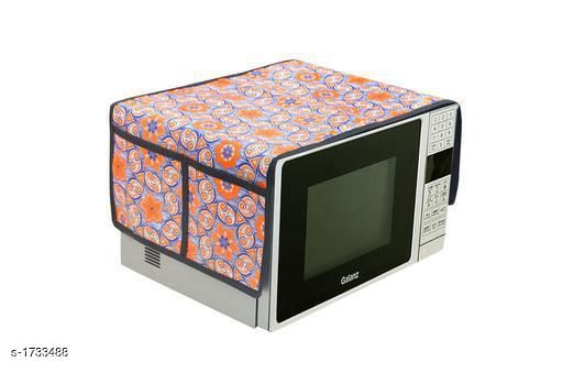 Appliance Covers Finest Laminated Non Woven Microwave Oven Cover  *Material* Laminated Non Woven  *Dimension* (L X B X  H) - 18 in X 14 in  X 13 in  *Description* It Has 1 Piece Of Microwave Oven Cover  *Work* Printed  *Sizes Available* Free Size *   Catalog Rating: ★3.8 (48)  Catalog Name: Finest Laminated Non Woven Microwave Oven Covers Vol 3 CatalogID_226975 C131-SC1624 Code: 841-1733488-