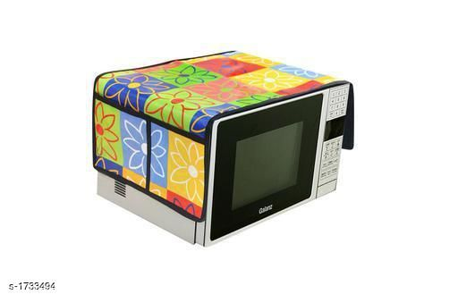 Appliance Covers Finest Laminated Non Woven Microwave Oven Cover  *Material* Laminated Non Woven  *Dimension* (L X B X  H) - 18 in X 14 in  X 13 in  *Description* It Has 1 Piece Of Microwave Oven Cover  *Work* Printed  *Sizes Available* Free Size *   Catalog Rating: ★3.8 (48)  Catalog Name: Finest Laminated Non Woven Microwave Oven Covers Vol 3 CatalogID_226975 C131-SC1624 Code: 081-1733494-