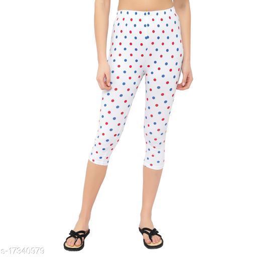 MYO Cotton Printed Capri For Girls & Women Pack of 1