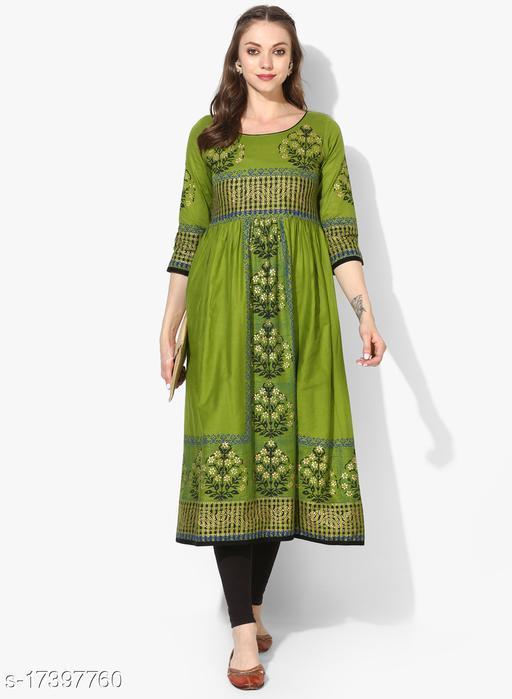Varkha Fashion Long Anarkali Kurta