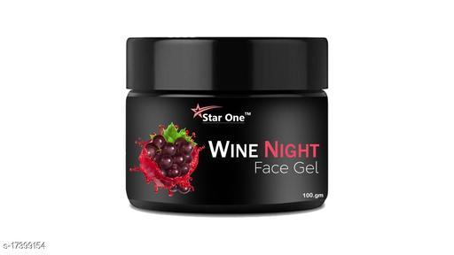STAR ONE Wine night face gel@401