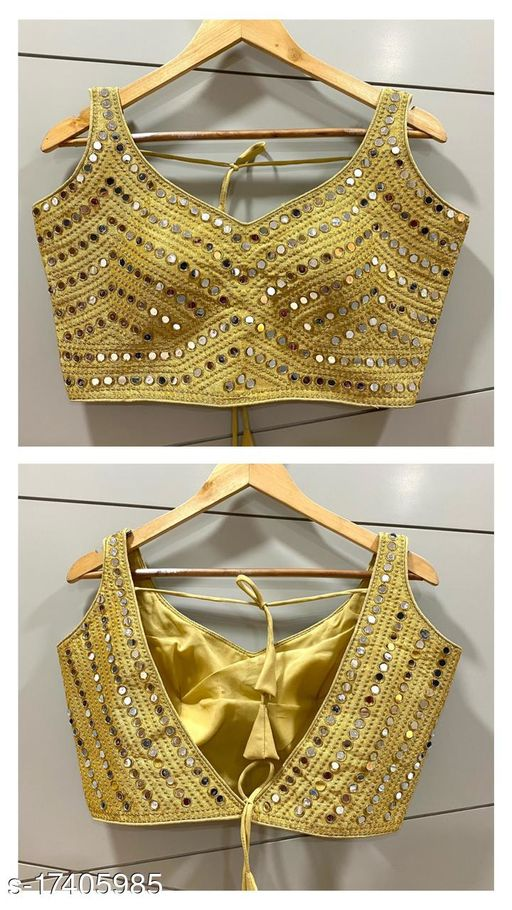 emboidery stiched blouse