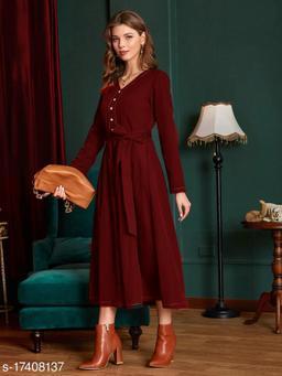 Latest Red Women Dresses