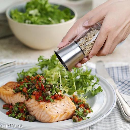 Fancy Salt & Pepper Shakers