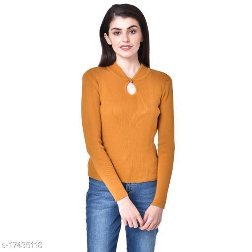 Daisy Women's Full Sleeve 100% Cotton Pullover Sweater