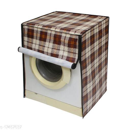 Glassiano Washing Machine Cover for LG FH4G6VDNL42 Fully Automatic Front Load 9 kg, CAM05