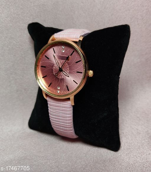 leather belt watches for women