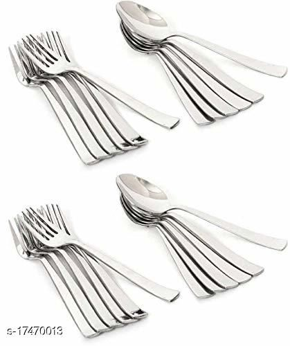 Boogeyman Stainless Steel Spoon 12 and 12 fork  Set