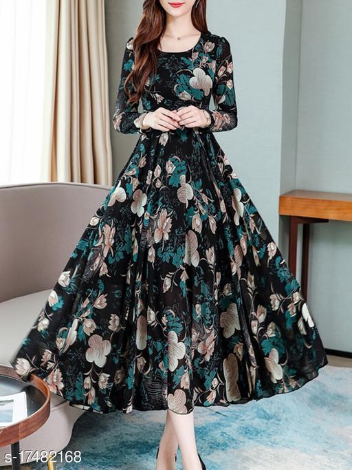 Feminine Maxi Women Dresses