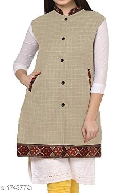 Fancy Modern Women Jackets & Waistcoat
