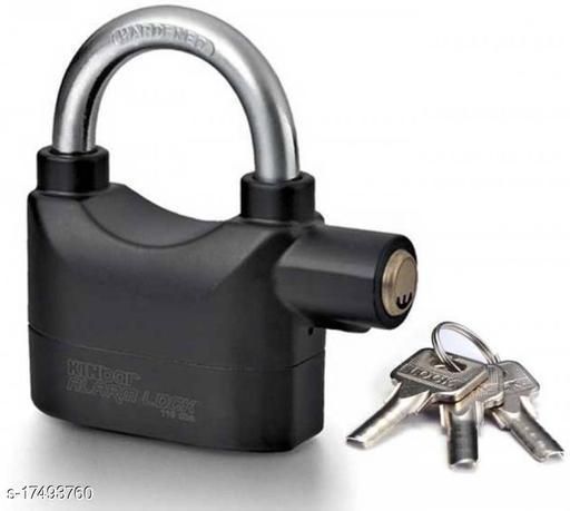 MedFest® Theft Alarm Security Siren for Shop/Home/Office/Door/Bicycle etc PadLock