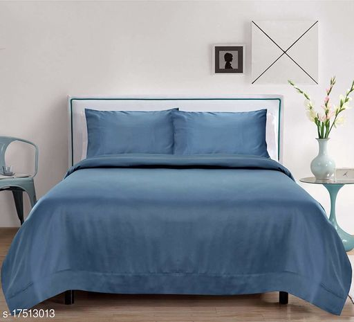 Trendy Silk 90 X 60 Single Bedsheet