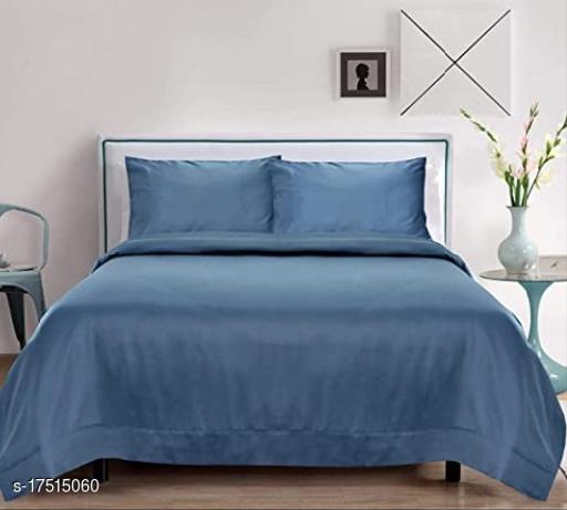 Trendy Silk 100 X 90 Double Bedsheet