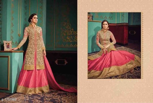 Elegant Georgette Embroidery Suits & Dress Material