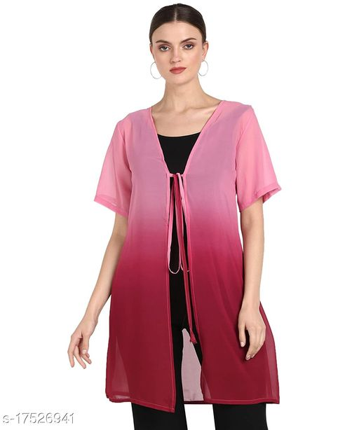 Serein Women's Georgette Shrug/Jacket