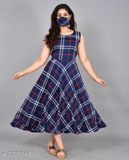 ZANIES's Womens Polycrepe Maxi Dress sleeveless