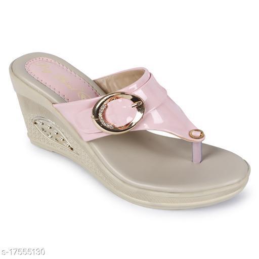 BigBird Attractive Women's Synthetic Pink Heels