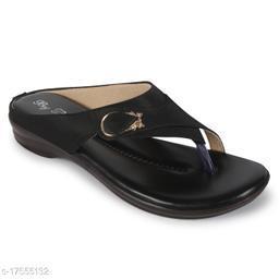 BigBird Attractive Women's Synthetic Black Heels