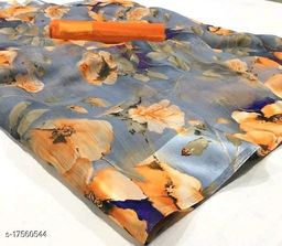 New summer nd wedding wear collection present by Master creation Digital printed linen sarees
