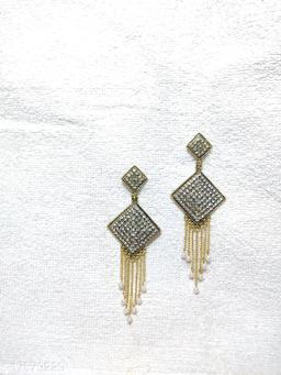 Austrian Zirconium Stud Earrings for Women & Girls