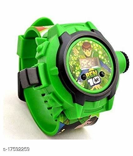 Ben-10 Kids watch with 24 Crids Laser Projection