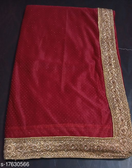 Simple shower synthetic saree