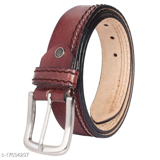 BeZelus Original Top Grain Leather Belts Casual and Formal Belts for Men and Boys
