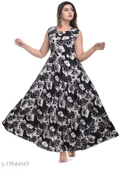 Women's American Crepe Gown