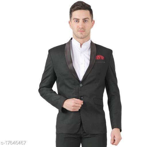 TAHVO Black Tuxedo Blazer